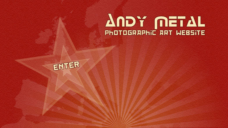 Andy Metal - photographic art website